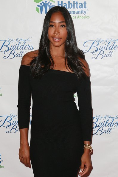 Apryl Jones at The Beverly Hilton Hotel on September 28, 2017 | Photo: Getty Images