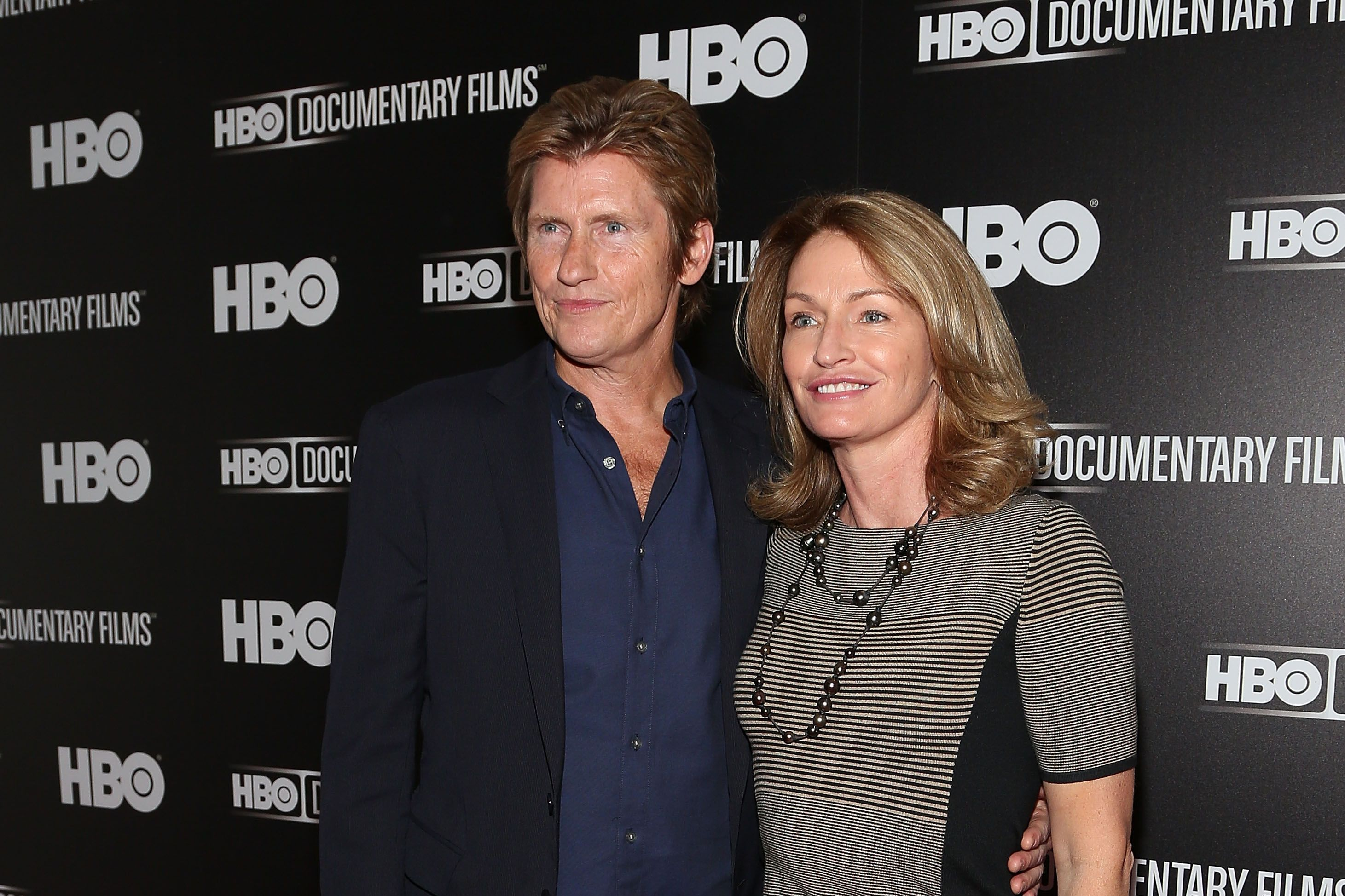 Denis Leary and Ann Lembeck  at Museum of Modern Art in 2014 in New York City | Source: Getty Images