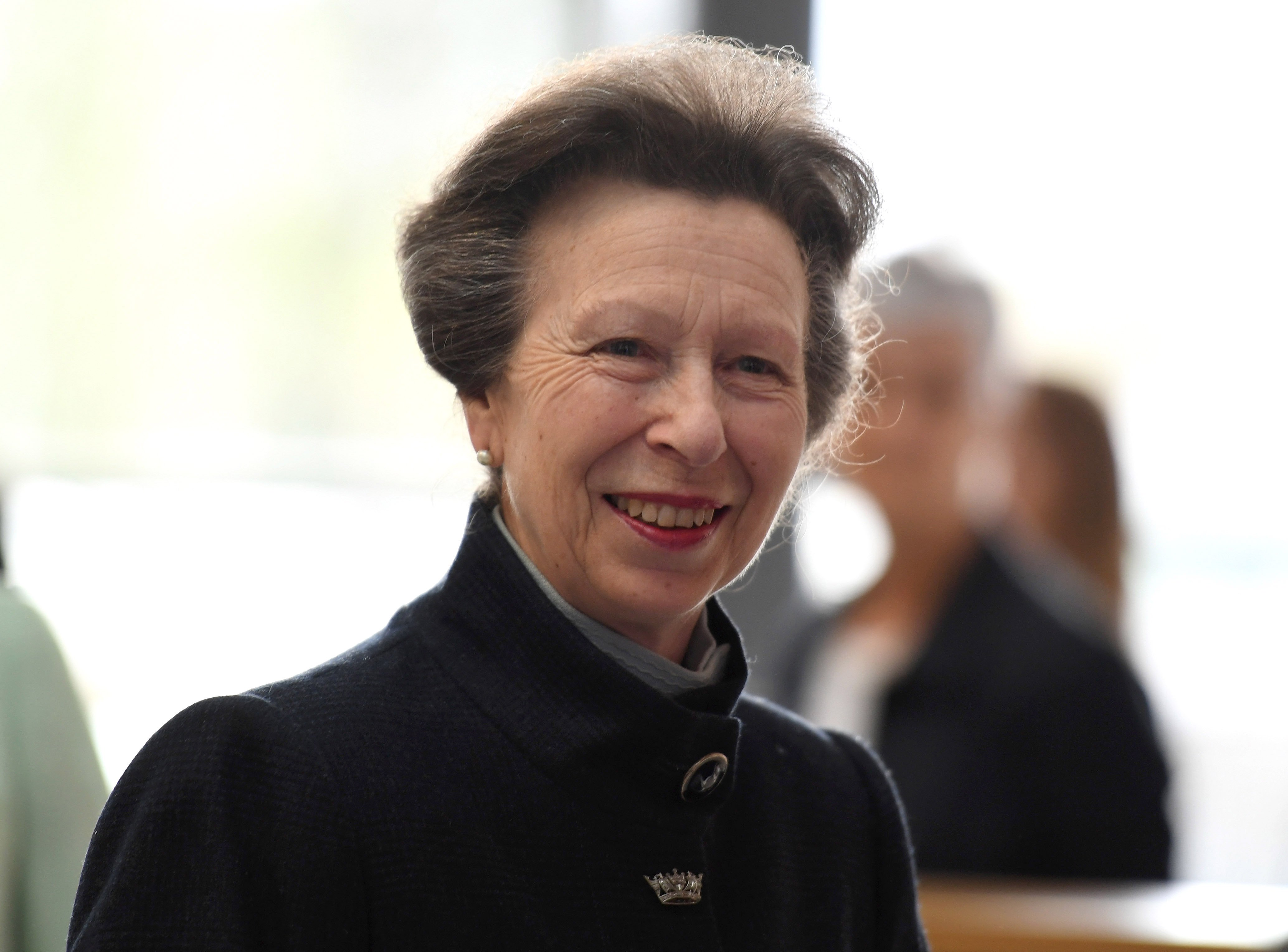 Princess Anne officially opens the UK Hydrographic Office headquarters on April 25, 2019 in Taunton, England | Photo: Getty Images