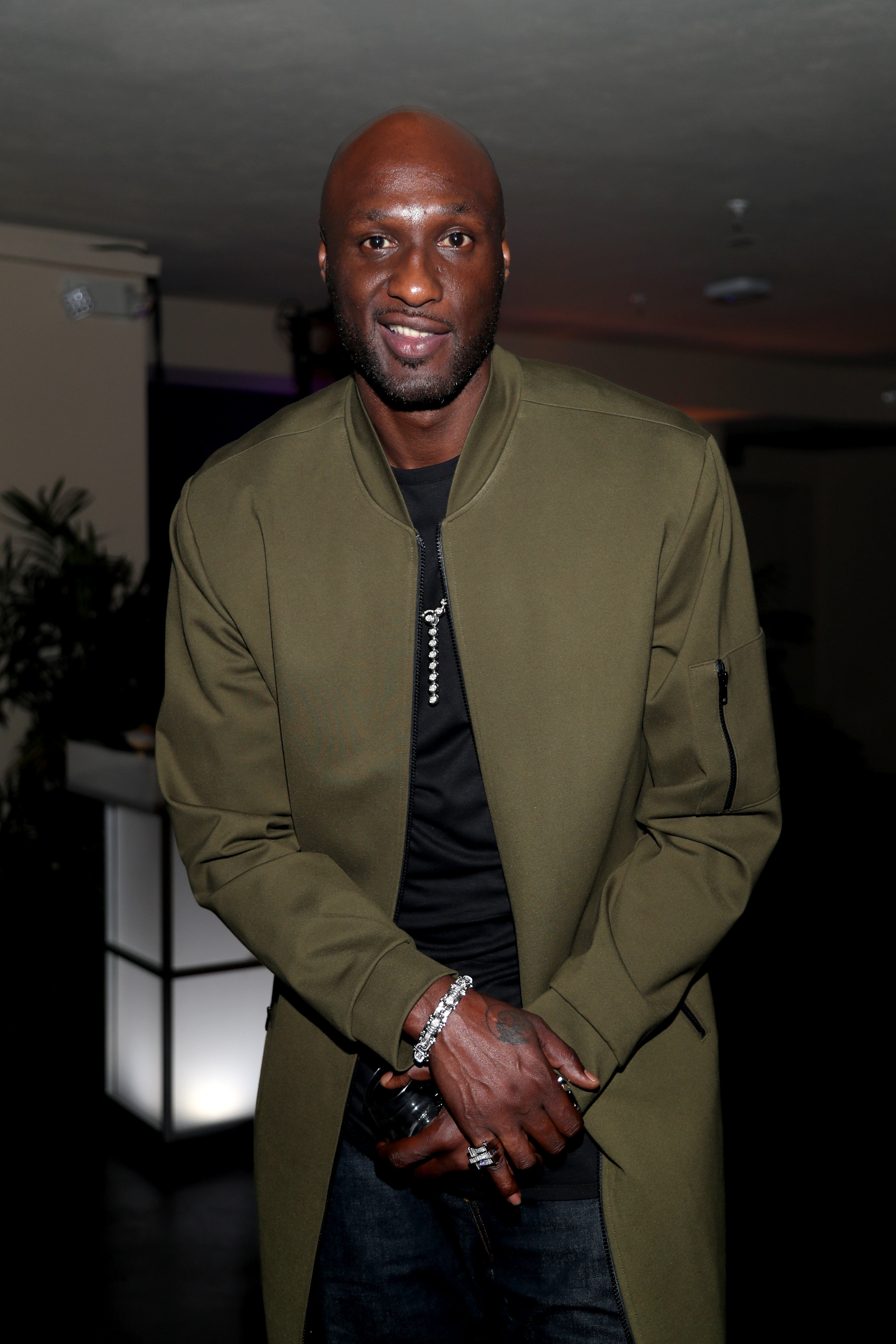 Lamar Odom is seen as Fashion Nova Presents: Party With Cardi at Hollywood Palladium on May 8, 2019. | Photo: GettyImages