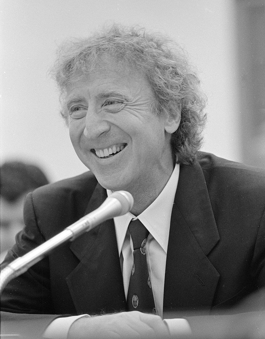 Gene Wilder in front of a United States House of Representatives Appropriations subcommittee on ovarian cancer research in March 2015 | Photo: Wikimedia Commons