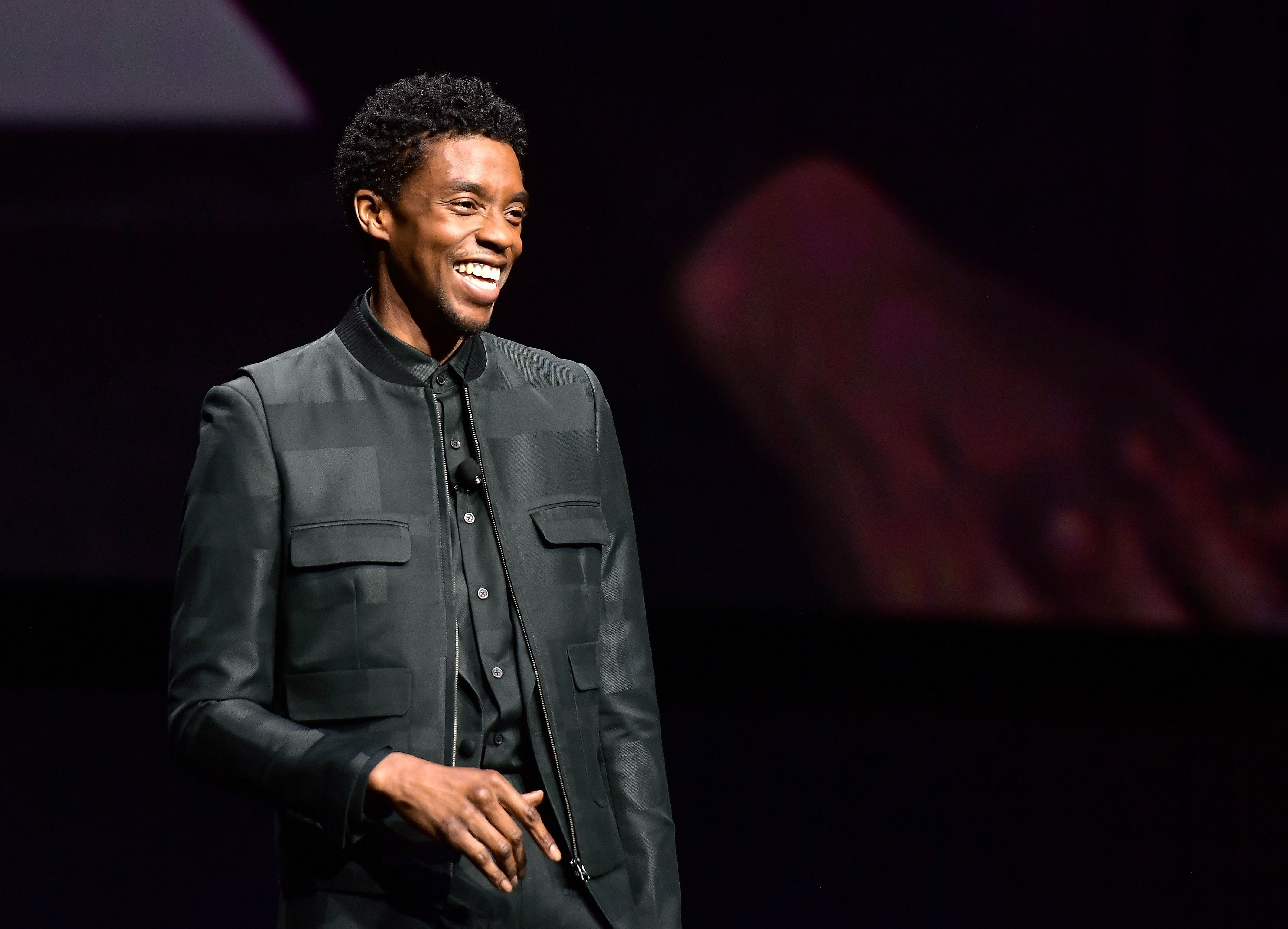 Chadwick Boseman speaks onstage at CinemaCon 2019 at The Colosseum at Caesars Palace on April 2, 2019 | Photo: Getty Images
