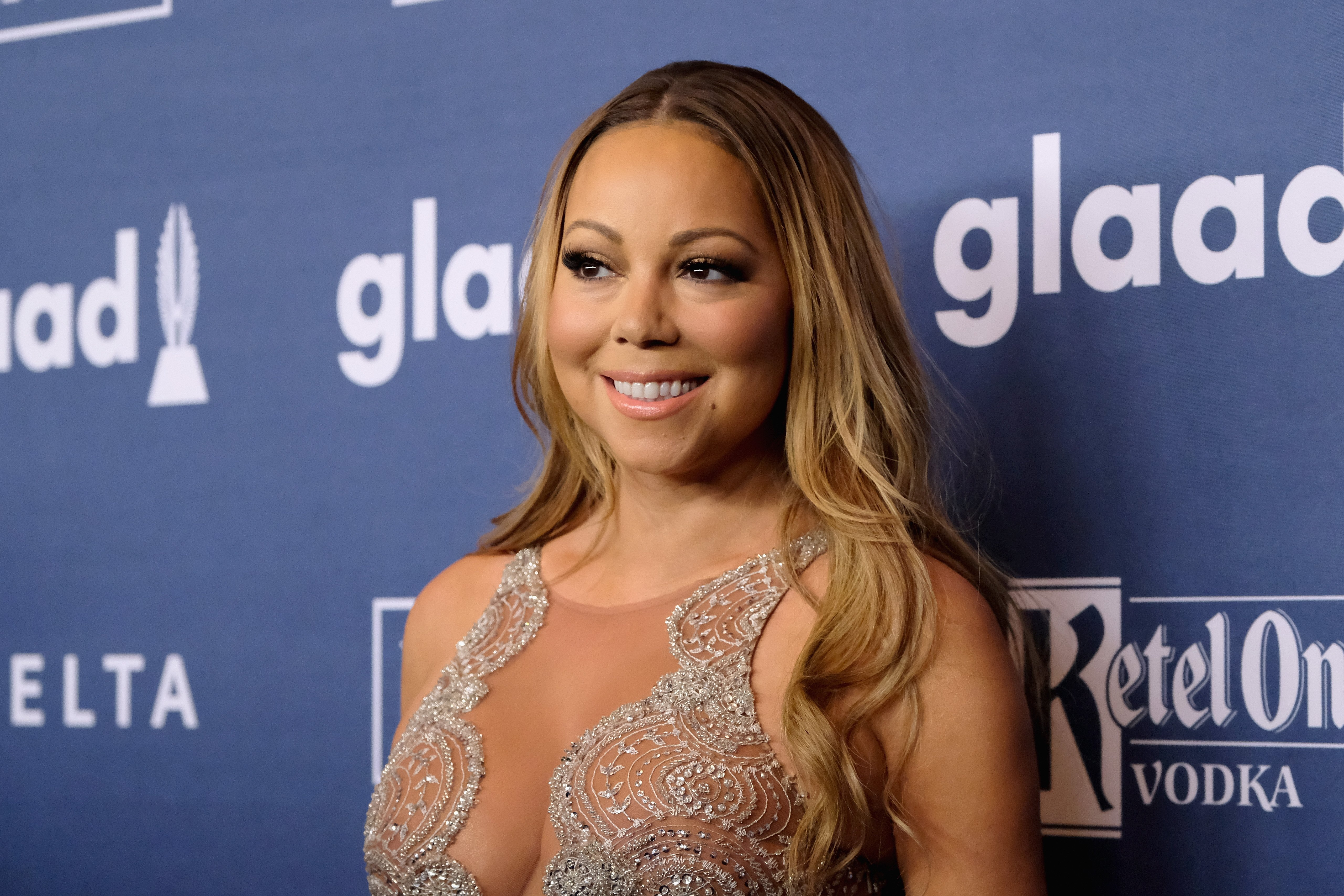Mariah Carey attends at The 27th Annual GLAAD Media Awards with Hilton at Waldorf Astoria Hotel on May 14, 2016 in New York City. | Photo: GettyImages