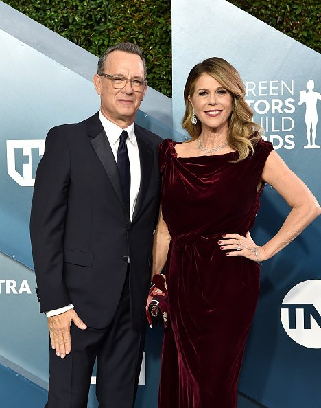 Tom Hanks and Rita Wilson at The Shrine Auditorium on January 19, 2020 in Los Angeles, California. | Photo: Getty Images