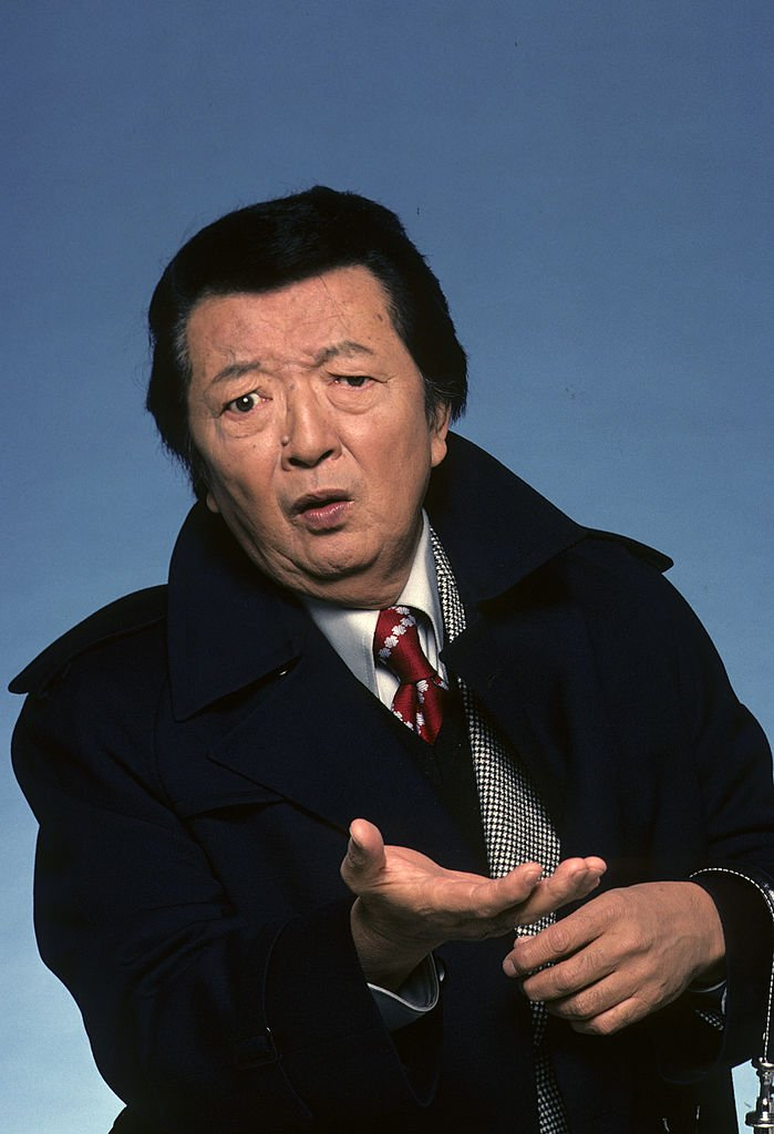 A 1978 gallery shoot of Asian-American actor Jack Soo. | Photo: Getty Images