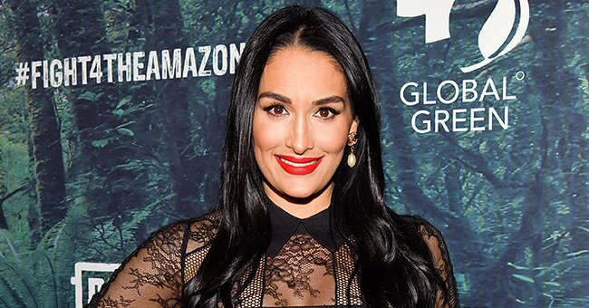 Heavily Pregnant Nikki Bella Addresses Unborn Child in a Sweet New Pic Flashing Her Baby Bump