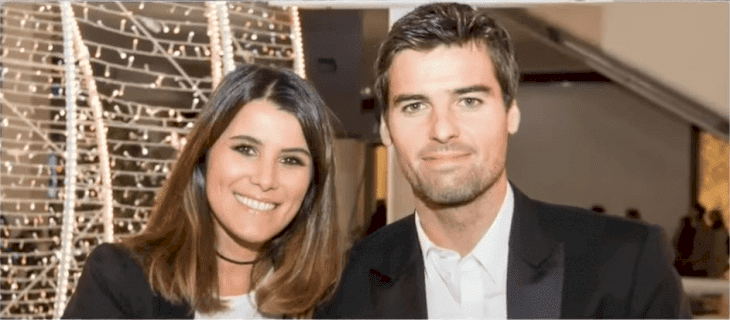Karine Ferri et Yoann Gourcuff. Photo : Youtube / Celebrity News