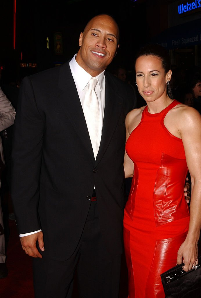 """Dwayne 'The Rock' Johnson and Dany Garcia at the premiere of """"The Rundown"""" in California   Photo: Getty Images"""
