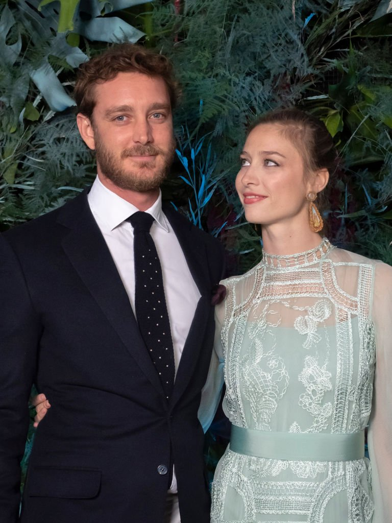 Pierre Casiraghi et sa femme Beatrice le 18 mai 2019 à Monte-Carlo. l Source : Getty Images