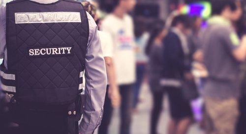 Un agent de sécurité. l Source: Shutterstock