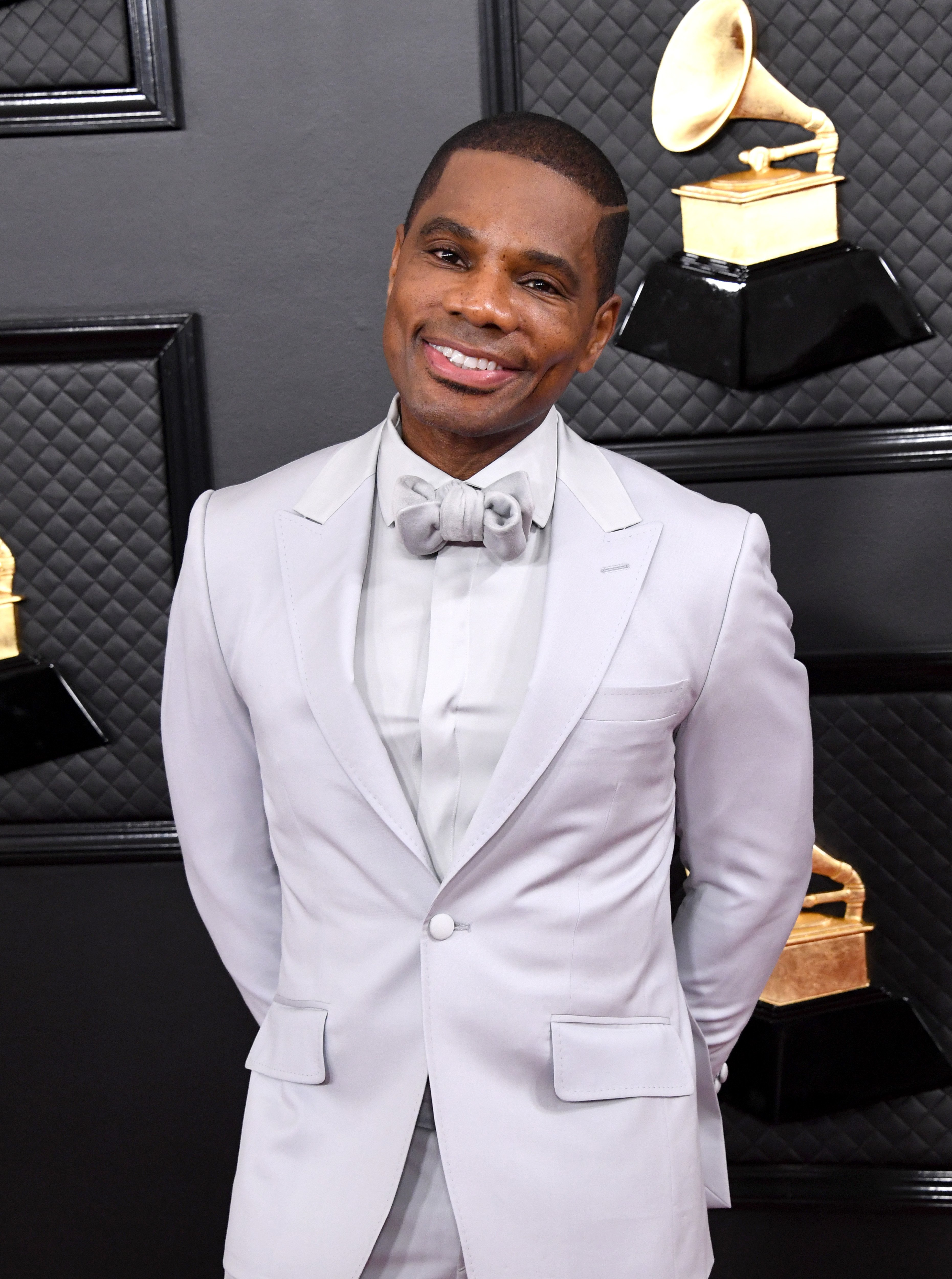 "Kirk Franklin performs on stage for the ""Long Live Love"" tour at Au-Rene Theater in July 2019 in Miami, Florida. 
