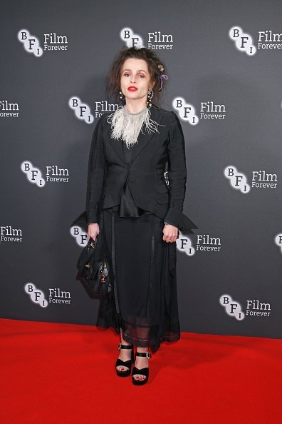 Actress Helena Bonham Carter attends the BFI Chairman's Dinner honouring Olivia Colman | Photo: Getty Images