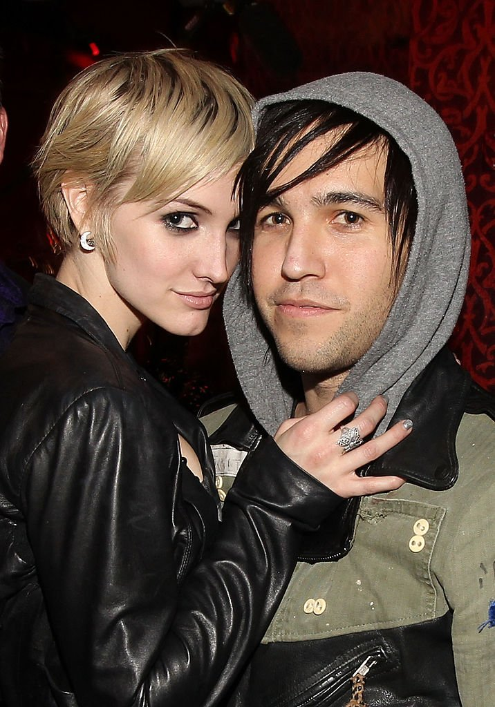 """Singer Ashlee Simpson and musician Pete Wentz attend the """"X Life"""" Launch Party at Beso on December 15, 2010 in Hollywood 