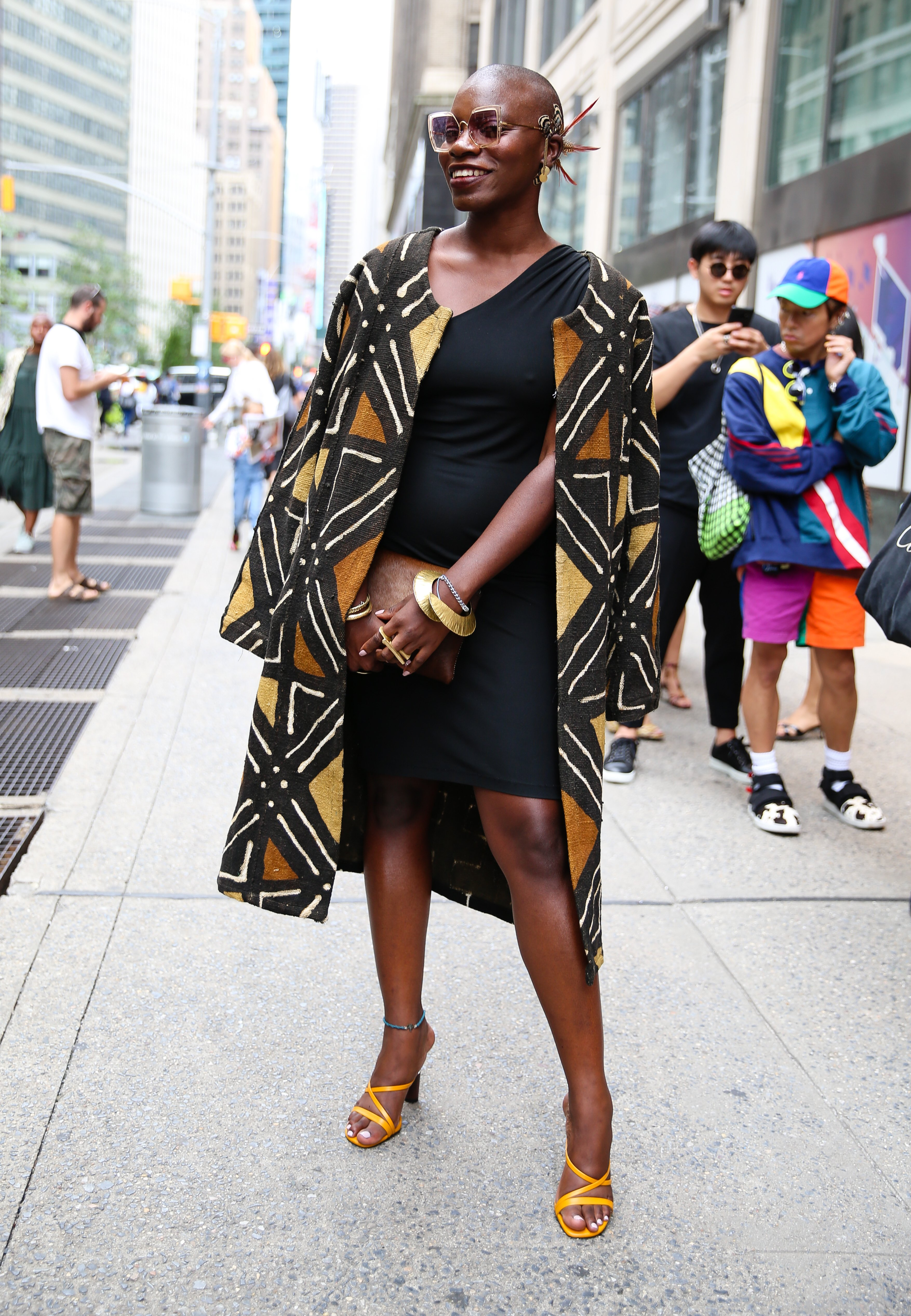 Jessica Nabongo during New York Fashion Week 2019. | Source: Getty Images
