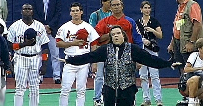 Meat Loaf's performance of the national anthem stunned fans (video)
