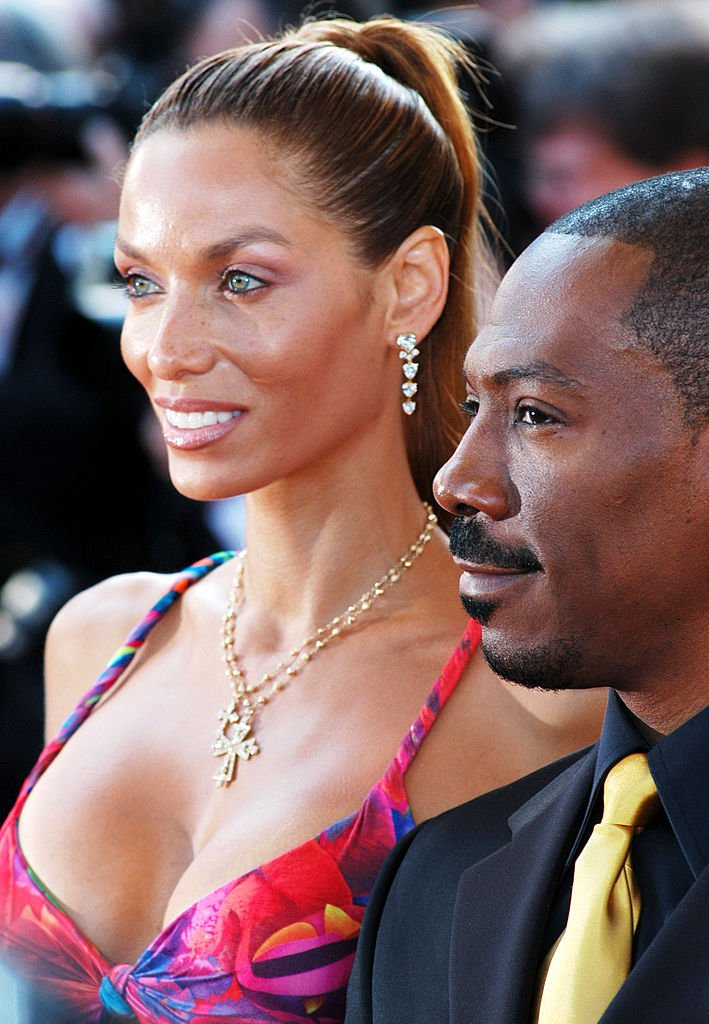 Nicole Murphy and Eddie Murphy during 2004 Cannes Film Festival | Photo: Getty Images