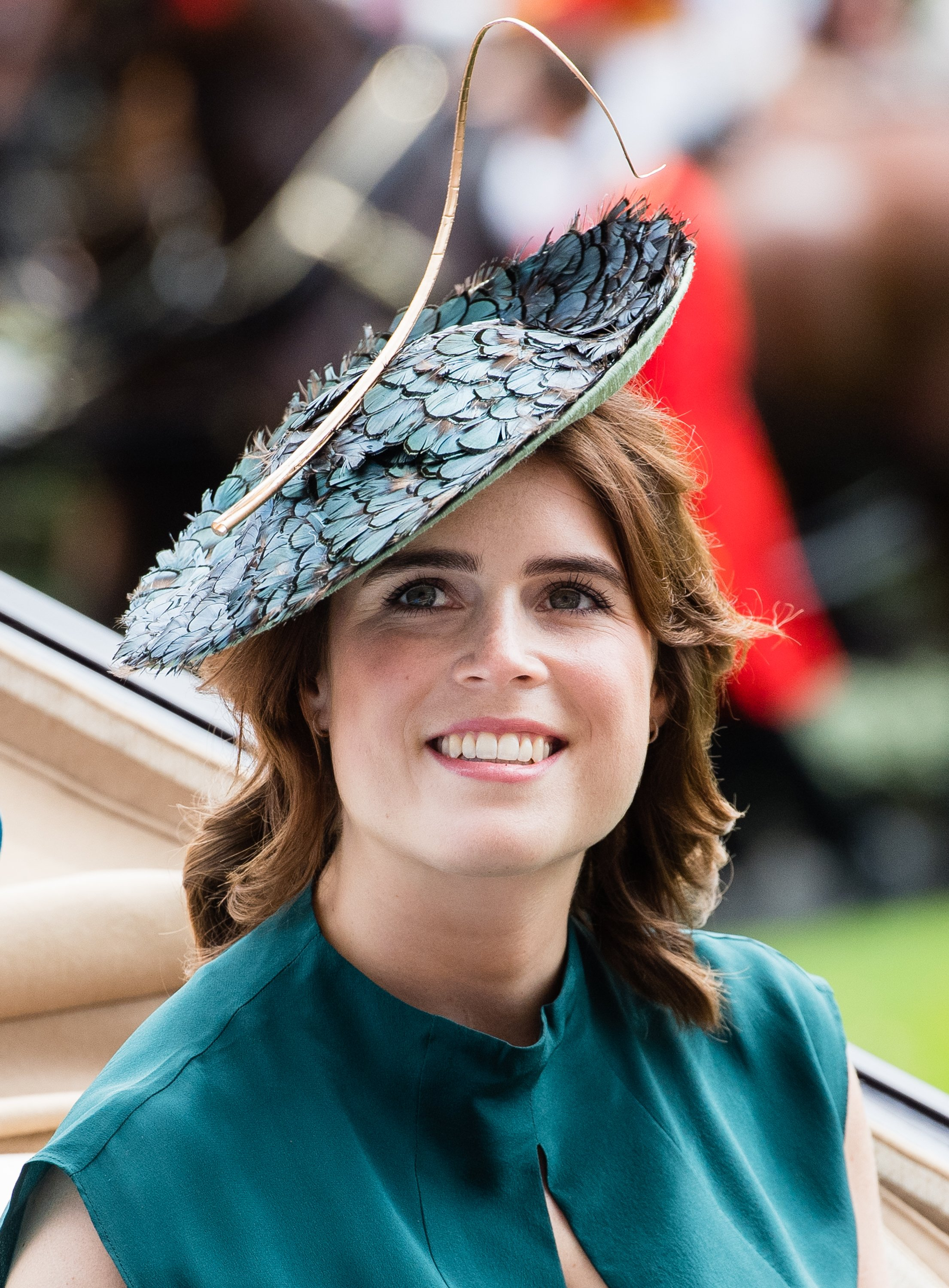 Princess Eugenie at ASCOT, ENGLAND - JUNE 20: Princess Eugenie of York attends day three, Ladies Day,  in Ascot, England. | Source: Getty Images