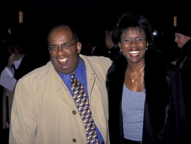 Al Roker and Deborah Roberts in 2000, before his gastric bypass surgery. Photo: Getty Images/GlobalImagesUkraine