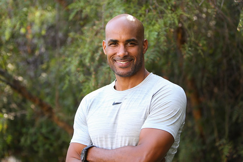 "Boris Kodjoe visiting ""Home & Family"" at Universal Studios Hollywood in Universal City, California, in August 2019. I Image: Getty Images."