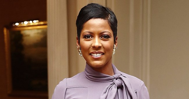Tamron Hall's Son Moses Ended up Sleeping on the Floor on His First Night Using a Toddler Bed