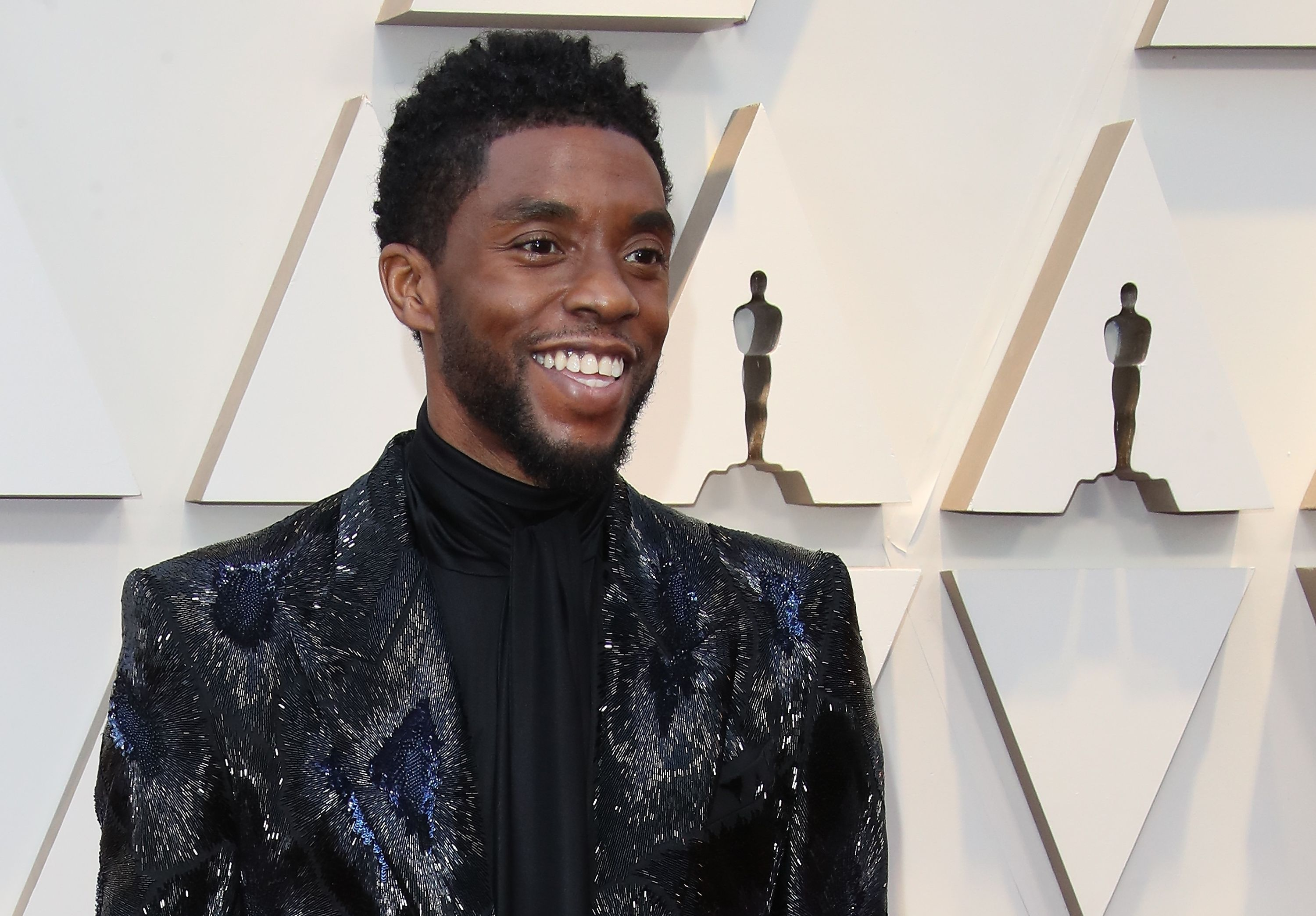 Chadwick Boseman at the 91st Annual Academy Awards at Hollywood and Highland in Hollywood, California on February 24 2019.   Photo: Getty Images