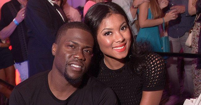Check Out Eniko Hart's Stunning Custom Chain with Husband Kevin Hart's 4 Kids' Names on It
