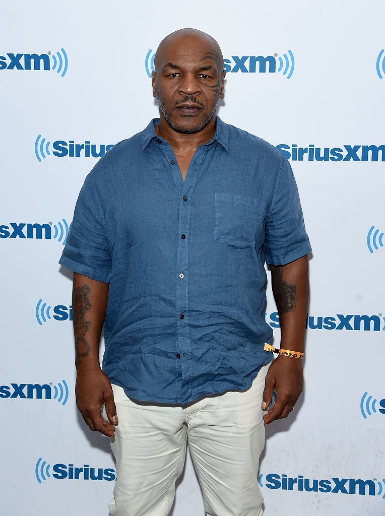 Mike Tyson visits SiriusXM at the SiriusXM Studios on August 30, 2017 in New York City | Photo: Getty Images