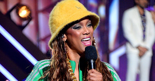 DWTS Host Tyra Banks Shares Lovely Throwback Photo at a Coffee Shop & Reveals Her New Project