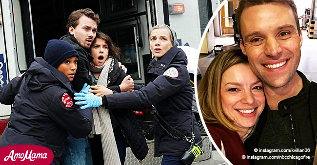 'Chicago Fire' actress bids emotional farewell to fans after season's surprising twist