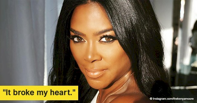 Kenya Moore admits to being 'disappointed' to leave 'RHOA' but says it's 'the best' for her baby