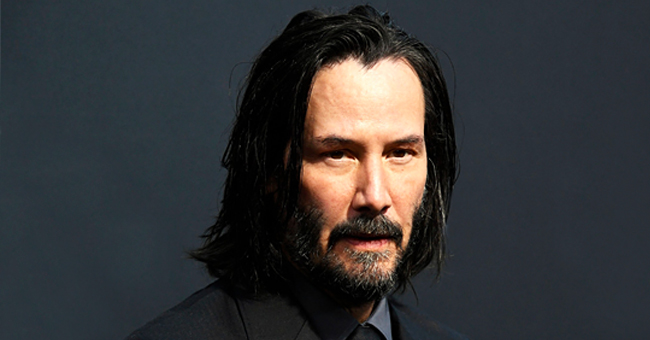Keanu Reeves Signs Fan's Yard Sign Posted in His Honor