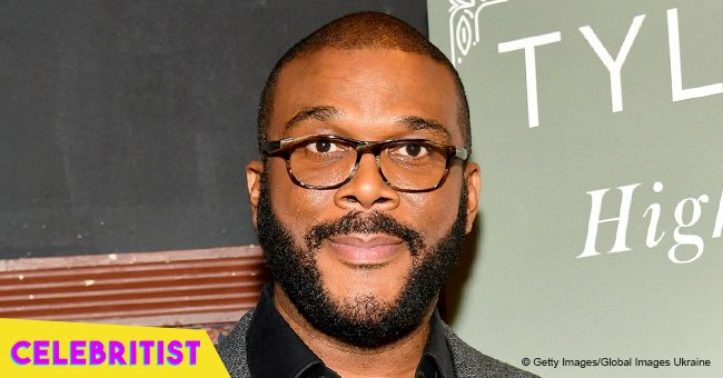 Tyler Perry's girlfriend turns heads in yellow polka-dot mini dress in recent photo