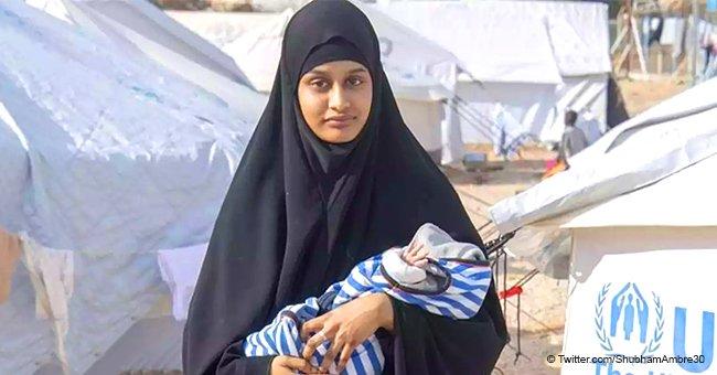 Le bébé d'une jeune mère musulmane qui n'a pas pu retourner en Grande-Bretagne depuis la Syrie est mort d'une pneumonie