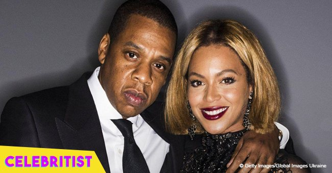 Beyoncé shows off her edgy side and twerks on husband Jay-Z in raunchy clip