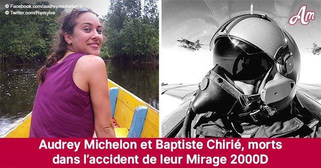 Audrey Michelon et Baptiste Chirié, les deux victimes du crash du Mirage 2000D