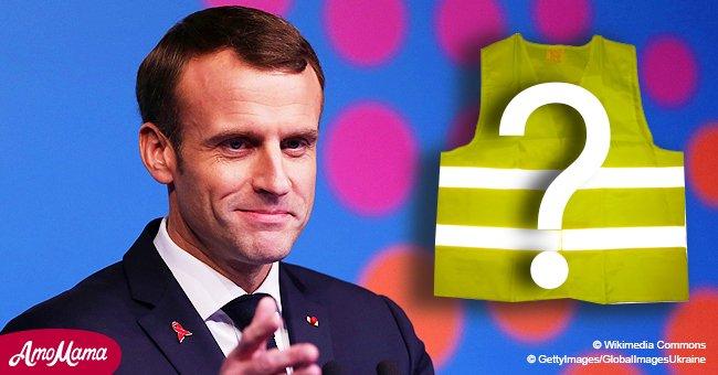 Emmanuel Macron fait une déclaration inattendue aux journalistes : 'Moi aussi je suis Gilet jaune'
