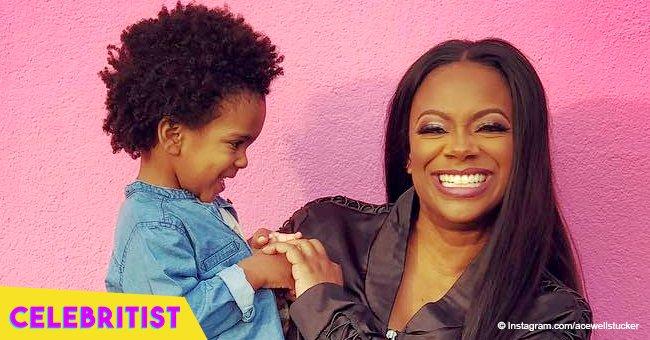 Kandi Burruss Shares Video Of Her Look Alike Mother
