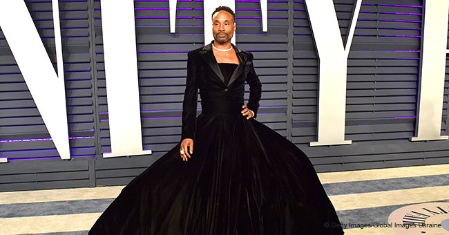 Pose' Actor Billy Porter Stuns the Crowd in Exquisite Tuxedo Gown on the 2019 Oscars Red Carpet
