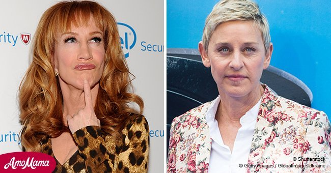 Variety: Ellen DeGeneres and Kathy Griffin feud takes new twist