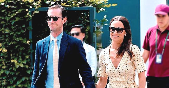 Pippa Middleton Spotted with Husband James Matthews at Wimbledon
