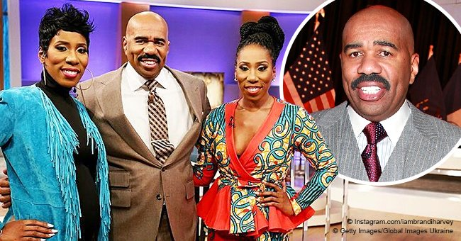Steve Harvey has twin daughters who are now 37 and strongly resemble dad