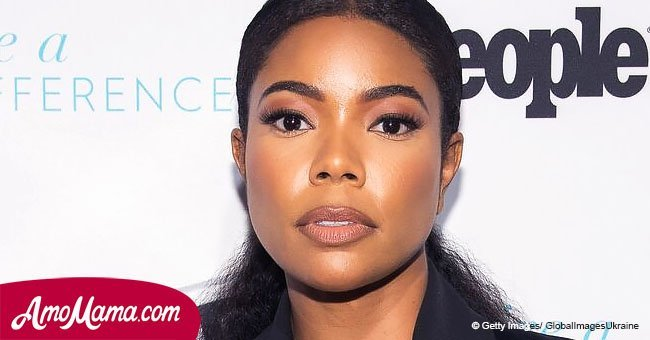 Gabrielle Union is seen cuddling up to her husband, and the two couldn't look more in love