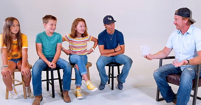 Chip Gaines of 'Fixer Upper' Tries to Make Their 4 Kids Laugh in a Father's Day Video