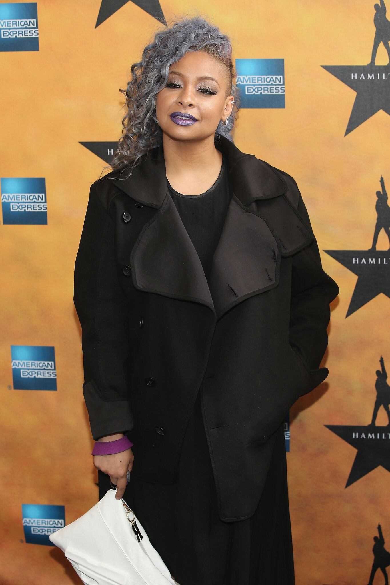 """Raven-Symone attends """"Hamilton"""" Broadway Opening Night at Richard Rodgers Theatre 