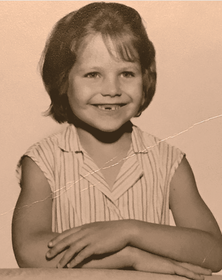 A young Katie Couric. | Source: Instagram/KatieCouric