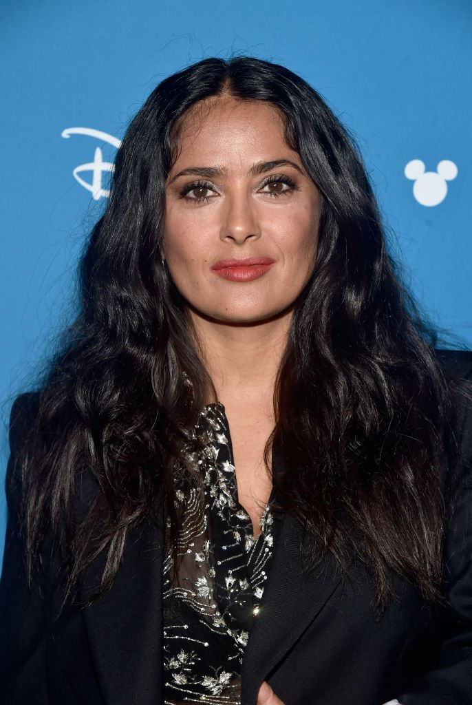 Salma Hayek en la Disney's D23 EXPO 2019 en Anaheim, California. | Foto: Getty Images