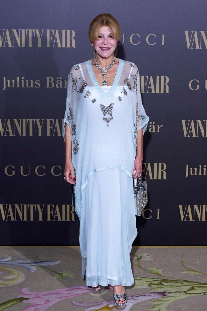 La baronesa Carmen (Tita) Cervera en el Hotel Ritz el 21 de noviembre de 2017 en Madrid, España. | Imagen: Getty Images