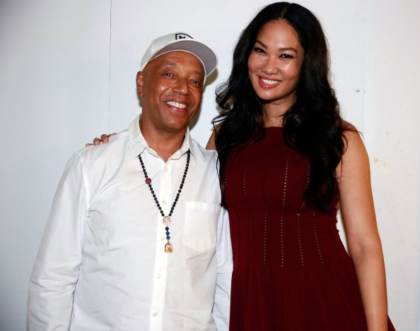 Kimora Lee Simmons and Russell Simmons attend the Argyleculture By Russell Simmons show at Mercedes-Benz Fashion Week Spring 2015 on September 5, 2014 | Photo: Getty Images