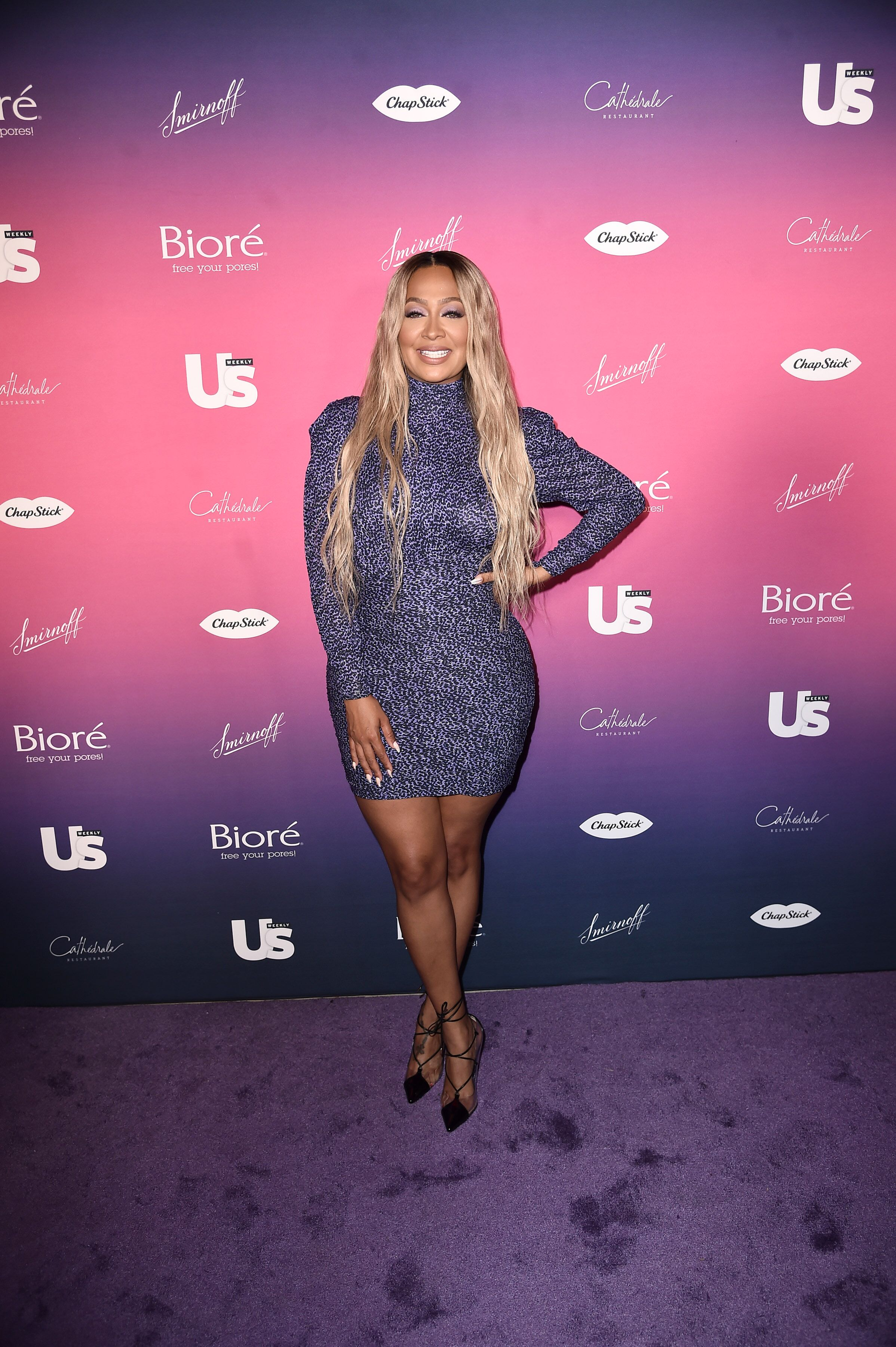 La La Anthony dressed in a sparkling gown at an US Weekly Event | Source: Getty Images/GlobalImagesUkraine