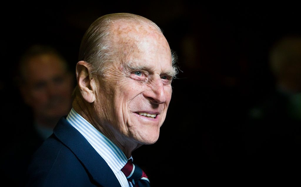 Prince Philip during a visit to the headquarters of the Royal Auxiliary Air Force's 603 Squadron on July 4, 2015 in Edinburgh, Scotland. | Photo: Getty Images